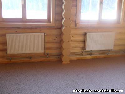 Радиаторы по дому