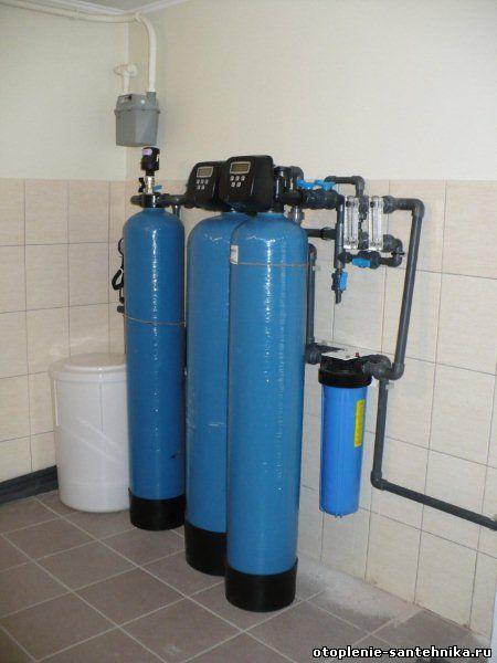 Заказать систему очистки воды, оборудование для фильтрации воды